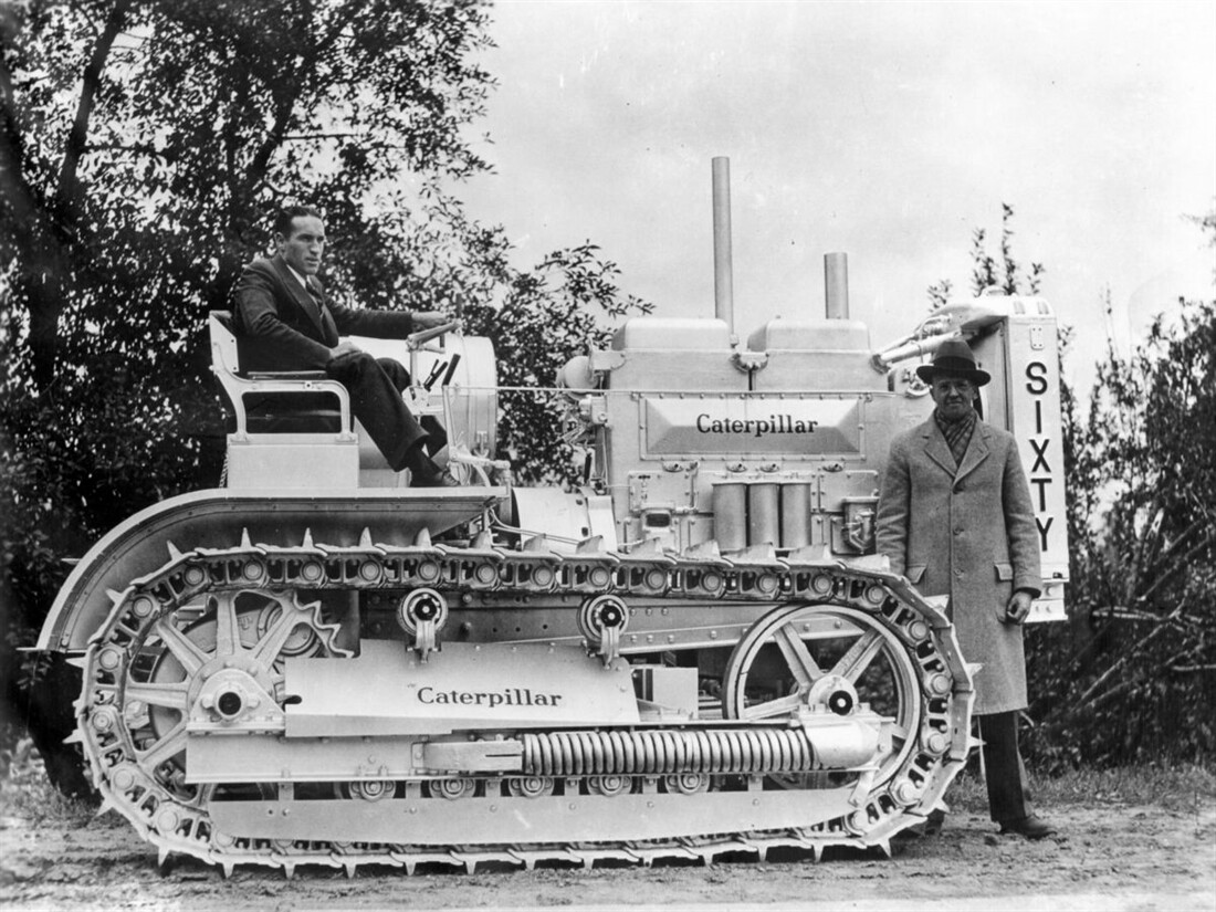 Caterpillar History Lesson