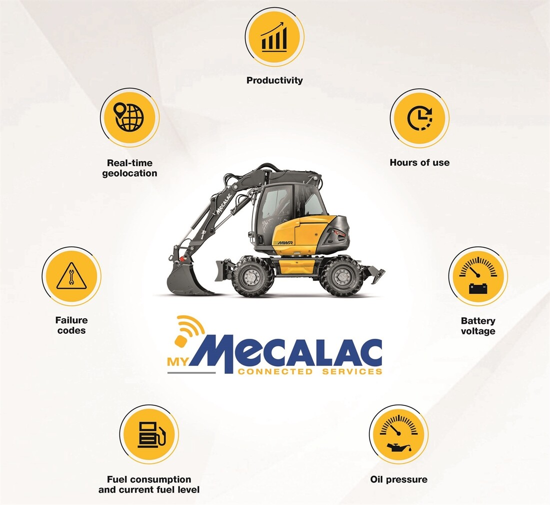 Mecalac launches connected services