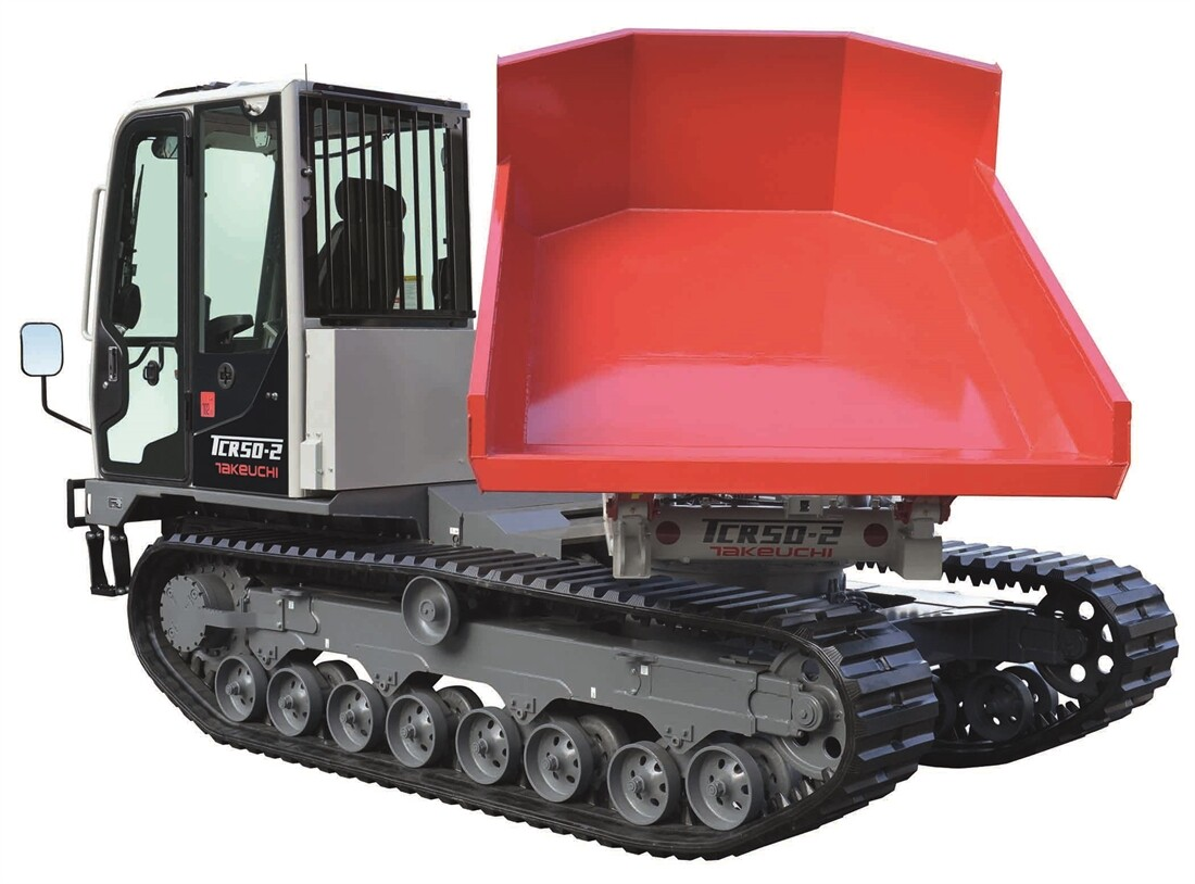 Takeuchi tracked dumper returns