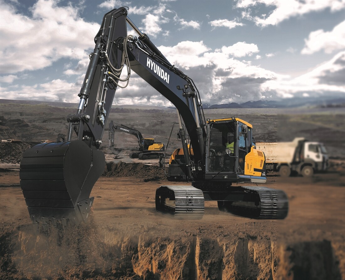 New Hyundai Excavator Ready for 2021