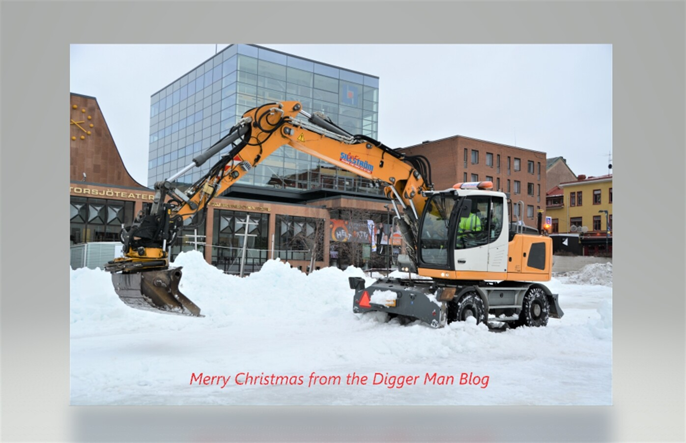 Merry Christmas From Digger Man Blog (Oh What a Year!)