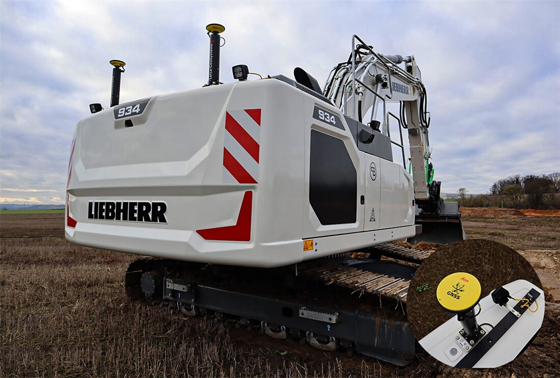 World's first Liebherr-Leica digger arrives in UK