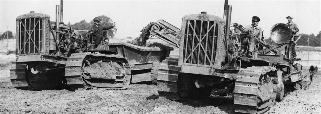 Caterpillar History Lesson in just over 7 Minutes