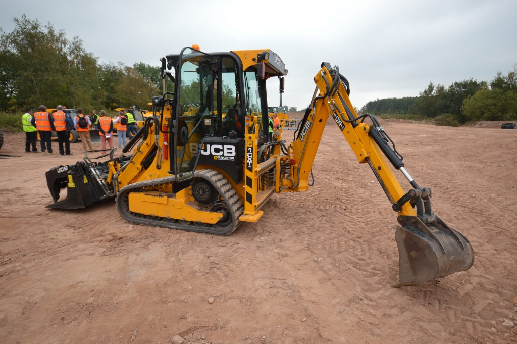 On track with JCB's mini marvel