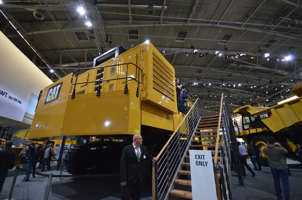 Big Cat is the star attraction from Caterpillar at Bauma