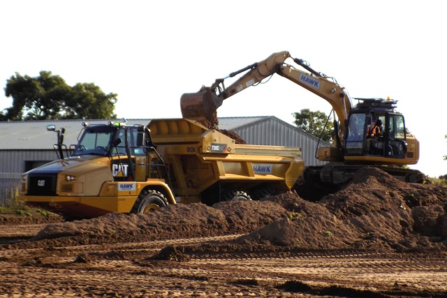 Hawk Plant Hire see many benefits from its Cat ejector trucks