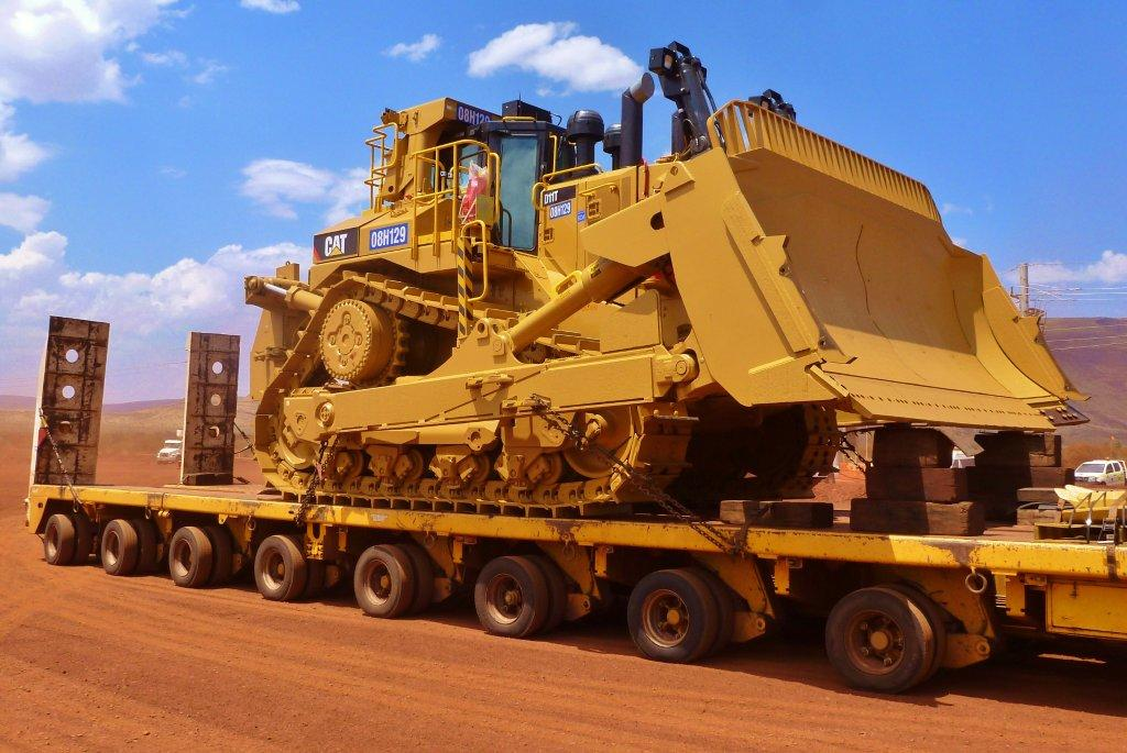 Our man down under gets up close and personal with big mining kit