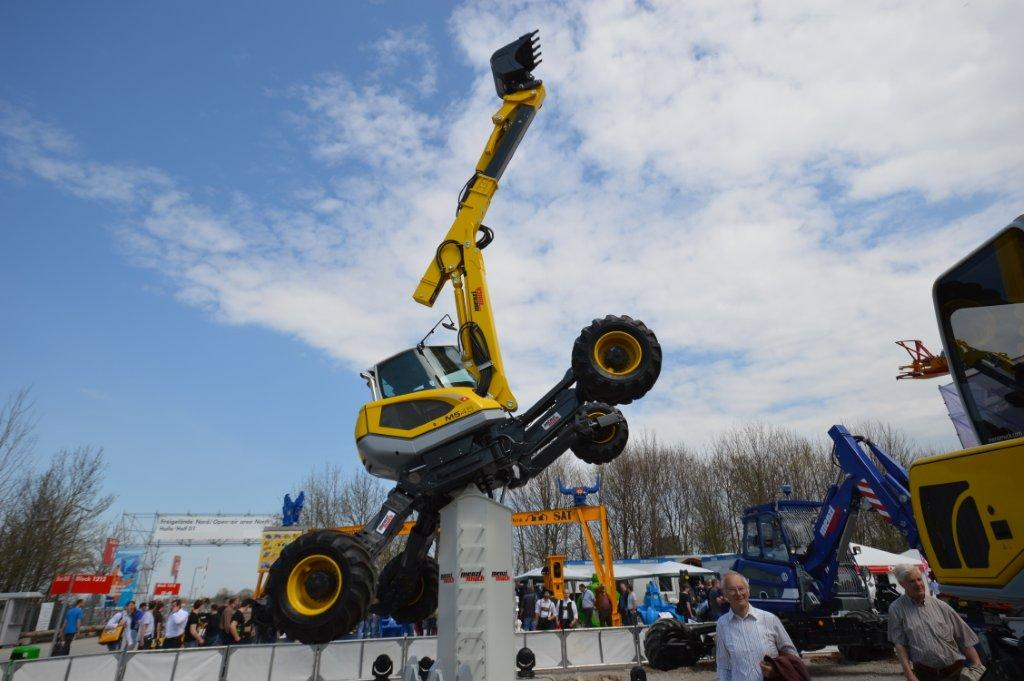 New Menzi Mucks At Bauma The Swiss Army Knife Of Excavators