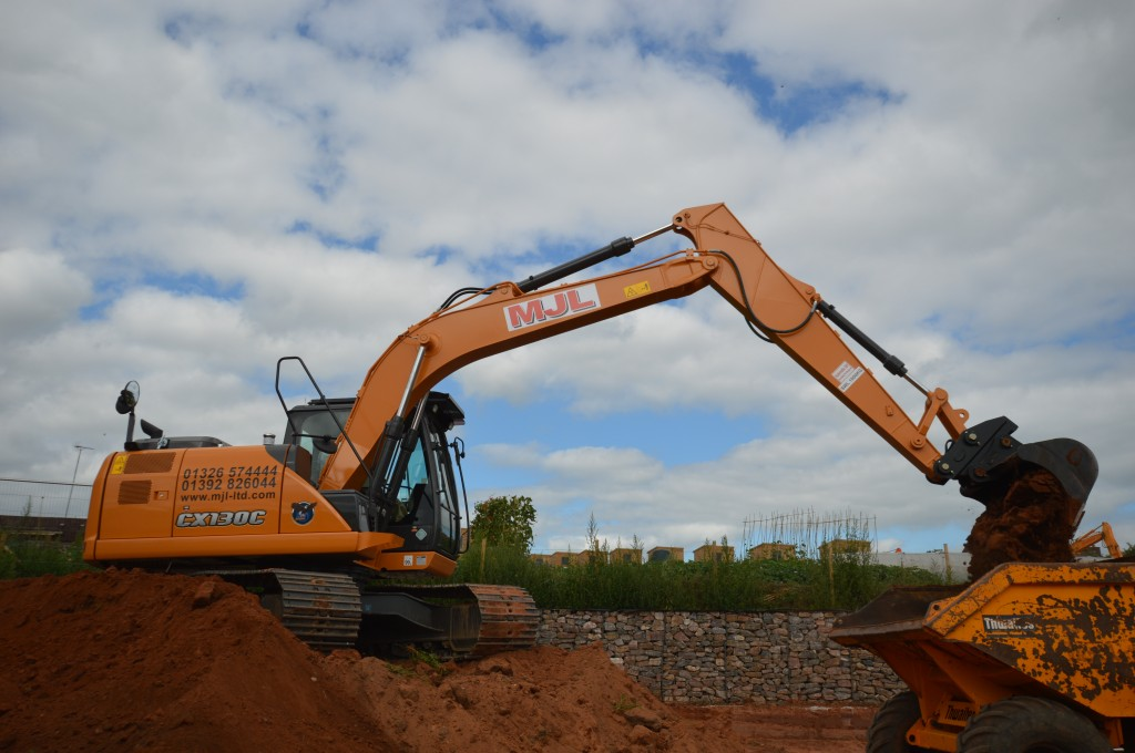 MJL Group takes its first Case C series excavator