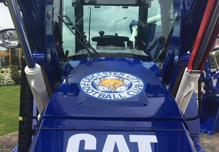 Blue is the colour as Cat celebrate a historic victory