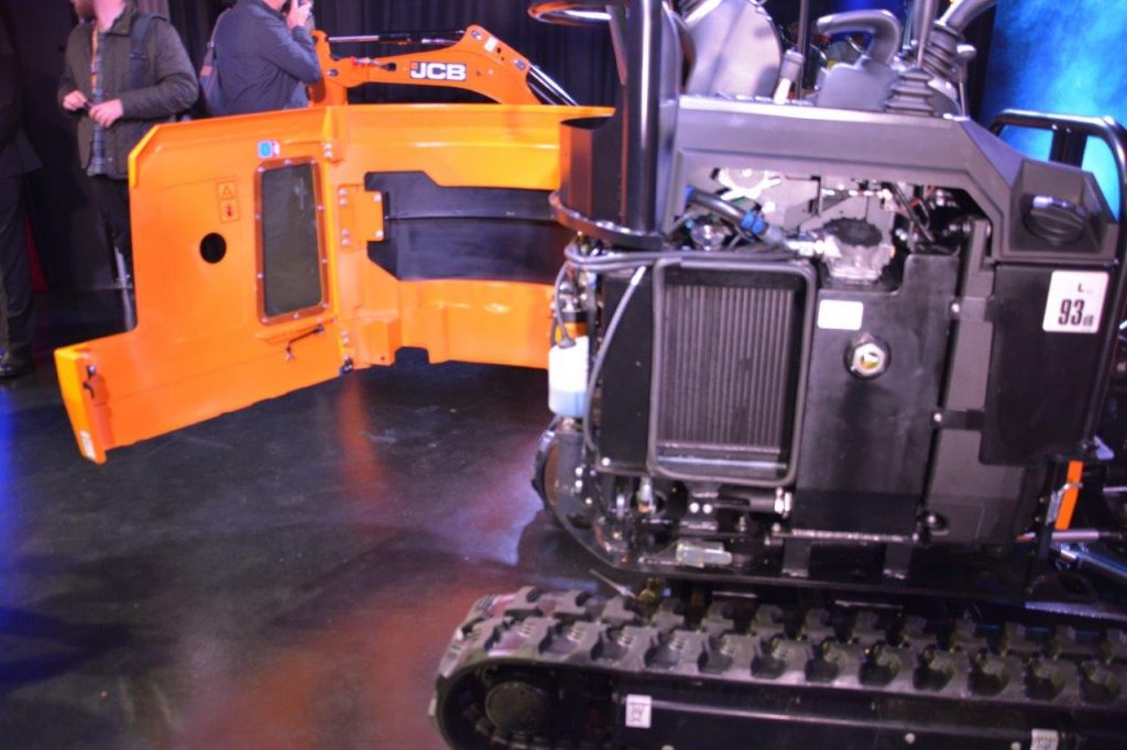 JCB reveal new 1 tonne + class mini excavators