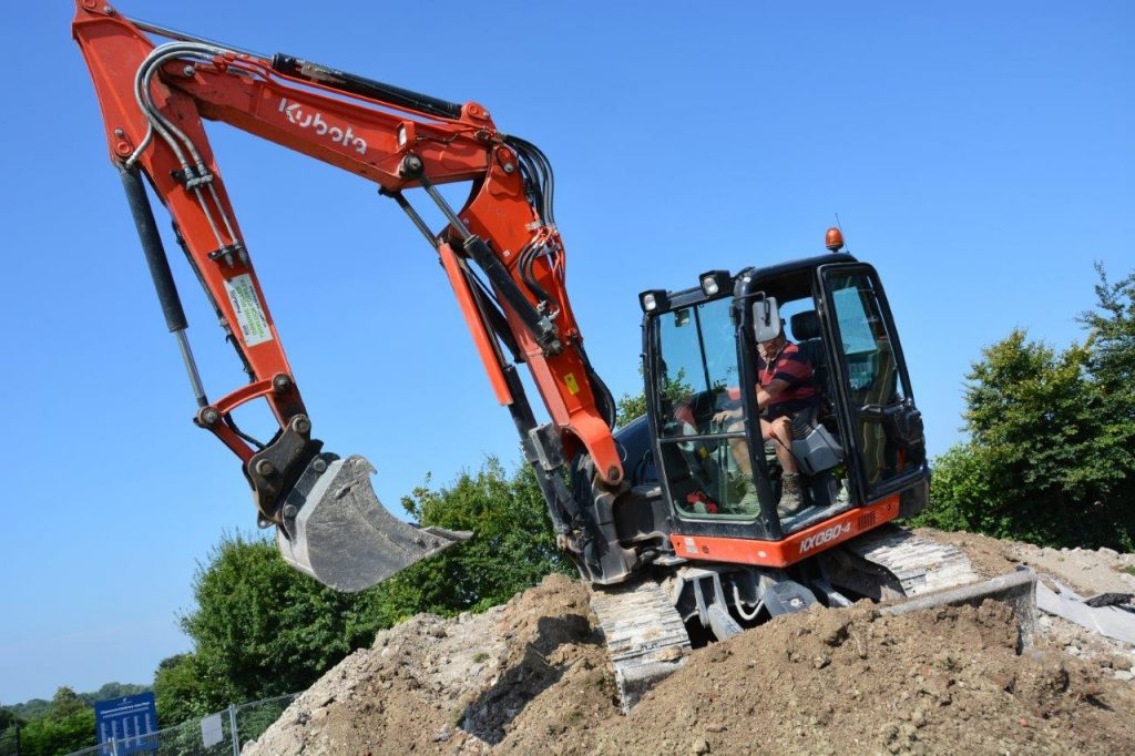 Eye for a niche with a Kubota