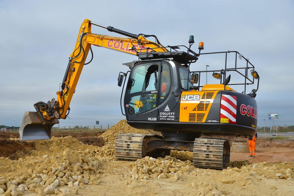 New JCB excavators for expanding Collett Plant Hire fleet