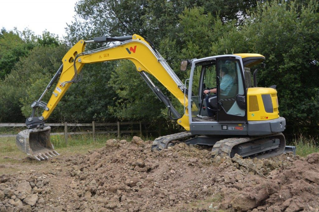 Wacker Neuson and Hidromek kit gather for New Forest dig-in