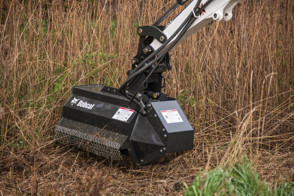 Bobcat Set To Clean Up With Own Range Of Flail Mowers